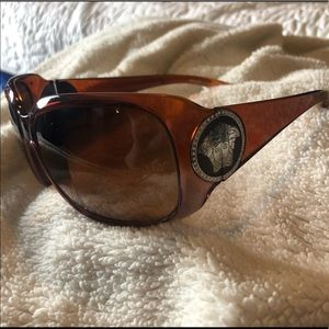 Versace VGUC 4161 B Brown Medusa Sunglasses
